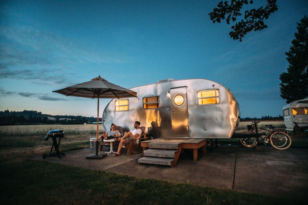 Urlaub mit Caravan