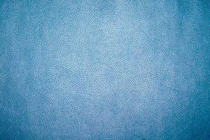 Blaues Kunstleder