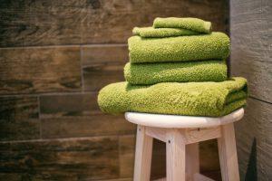 Handtücher aus Zwirnfrottier