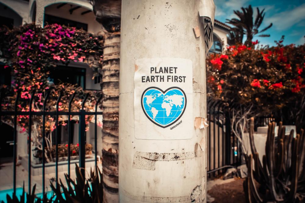 Plakat Umweltschutz
