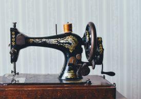 Historische Nähmaschine