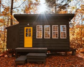 Tiny House im Wald