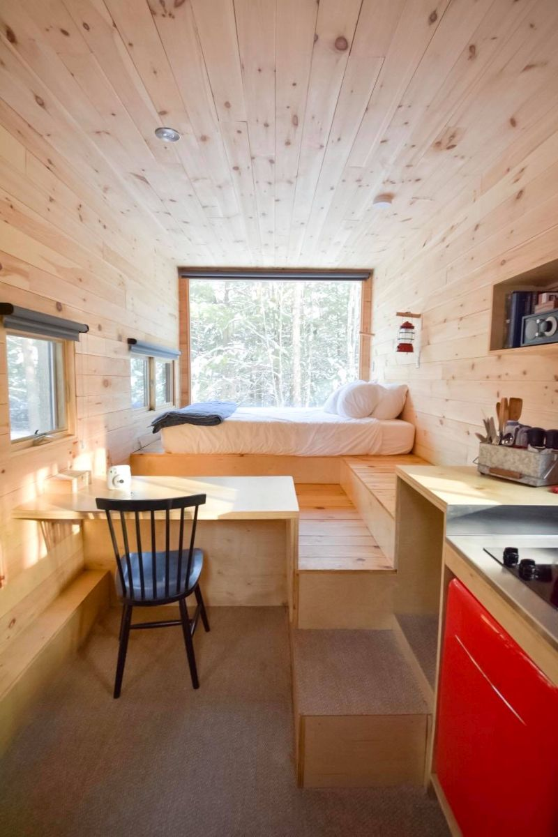 Schlafbereich Tiny House