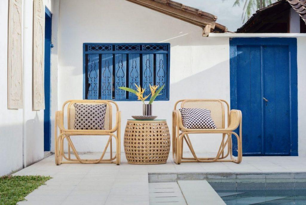 Stühle aus Wiener Geflecht